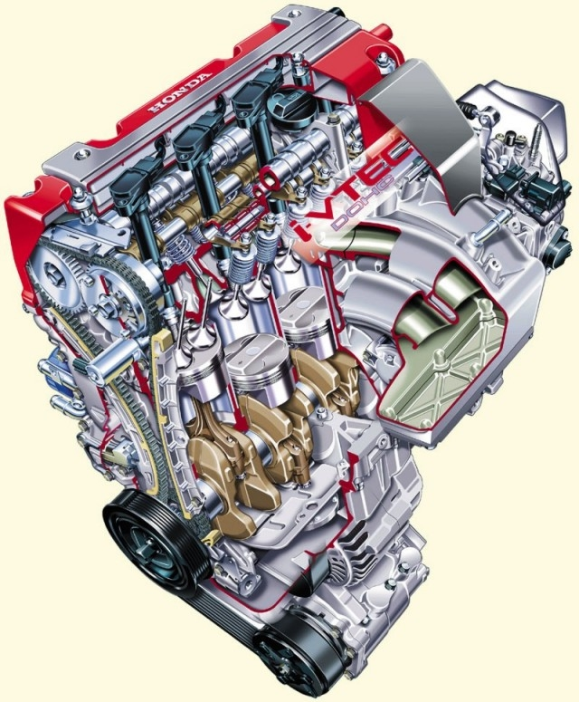 forged type r race engines